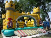 Bouncy castle in Findikli, Turkey