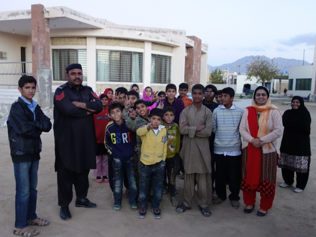SOS children in Quetta, Pakistan