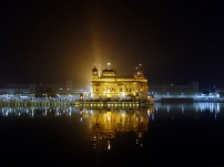 Golden temple of the Sikhs in Amritsar, India