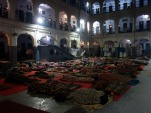 All guests can stay for free at the Golden temple in Amritsar, India