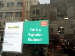 Even McDonalds is vegetarian in Amritsar, India
