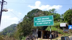 Street signs are much more poetic in India