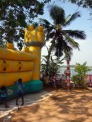 The castle at the Don Bosco orphanage in Kochi, Kerala