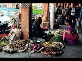 Market scene in Jaipur, Rahjastan