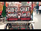 GOD IS MONDAY!