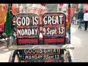 GOD IS MONDAY!