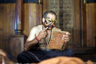 Traditional theatre in Kochi, Kerala