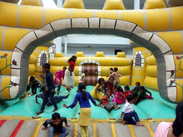 Bouncy castle in Baroda