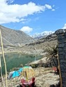 View from my guesthouse at the Boreth lake near Hunza, Pakistan