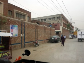 Ever wondered where your Levis jeans get produced? Here. Near Lahore, Pakistan