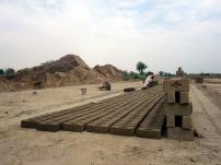 Brick kiln near Lahore, Pakistan