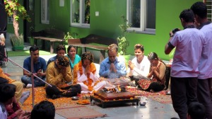 Opening ceremony in Mother Miracle school in Rishikesh, India