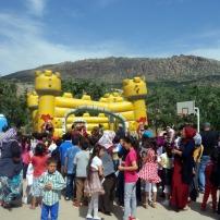 Last day of school near Diyarbakir, Turkey